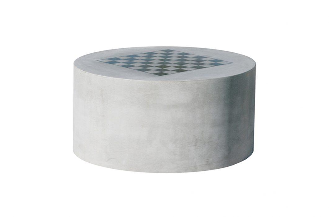 concrete checker board