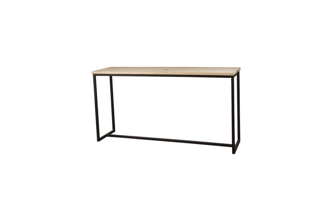 concrete console table