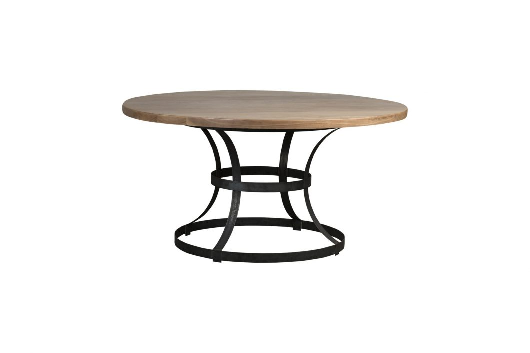 concrete dining table