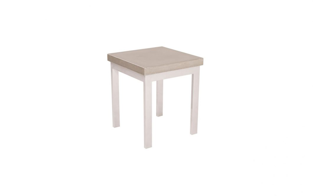 concrete side table